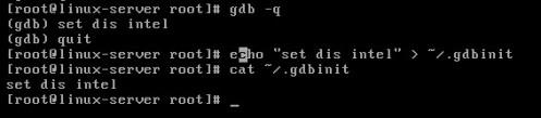 gdb echo